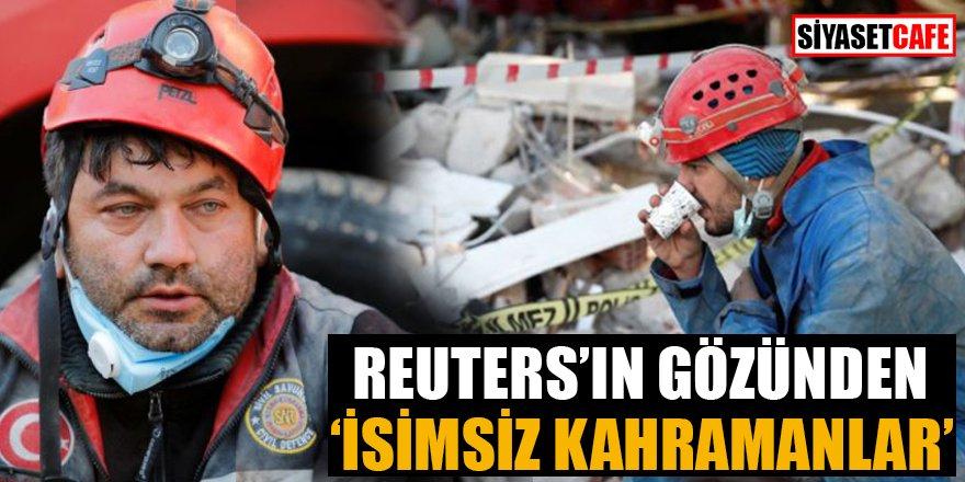 Reuters'ın gözünden İzmir'deki 'İsimsiz kahramanlar'