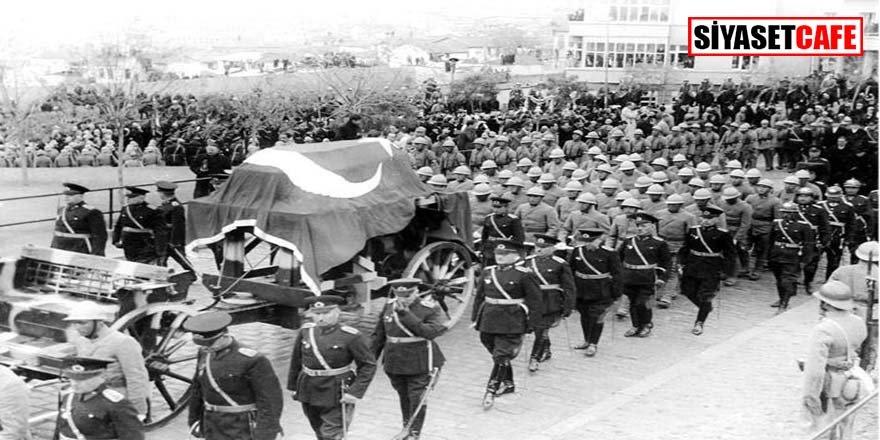 Bu görüntüler Atatürk'ün cenaze merasiminden ilk kez ortaya çıktı