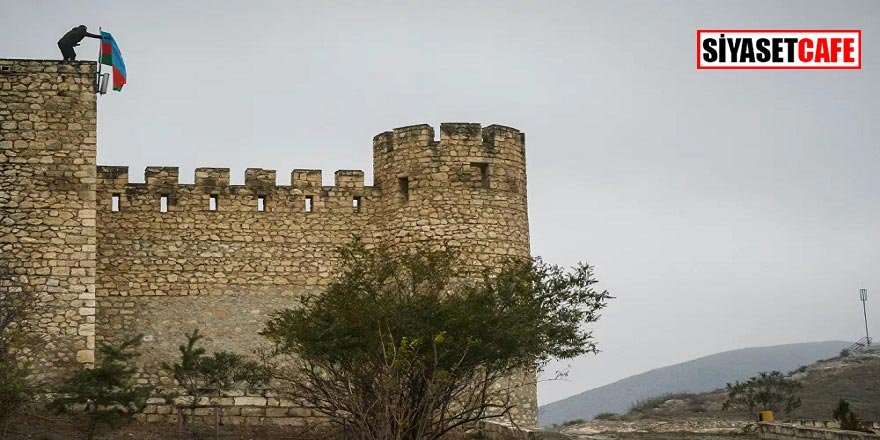 27 yıl sonra ilk kez Şahbulak Kalesi'ne, Azerbaycan bayrağı dikildi