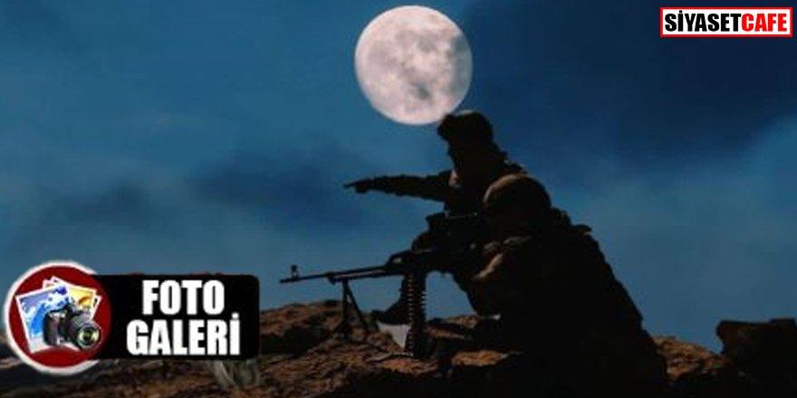 MSB paylaştı: 'Süper Ay' ışığında terörle mücadele