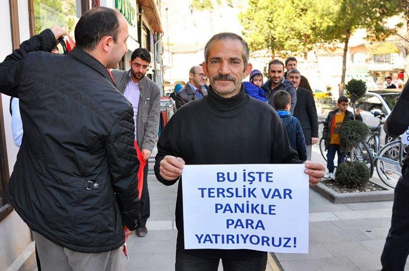 Bank Asya müşterilerinden AKP'ye anlamlı göndermeler 1