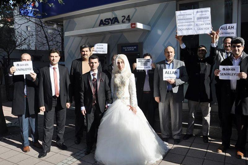Bank Asya müşterilerinden AKP'ye anlamlı göndermeler 18