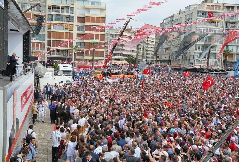 MHP İzmir'de alanlara sığmadı - Foto Haber 5