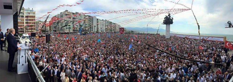 MHP İzmir'de alanlara sığmadı - Foto Haber 9