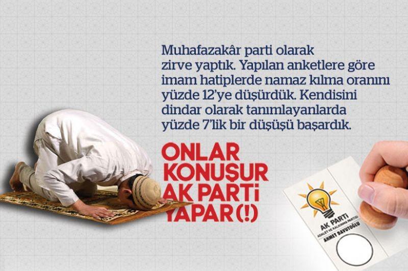 Onlar konuşur AKP yapar (!) 13