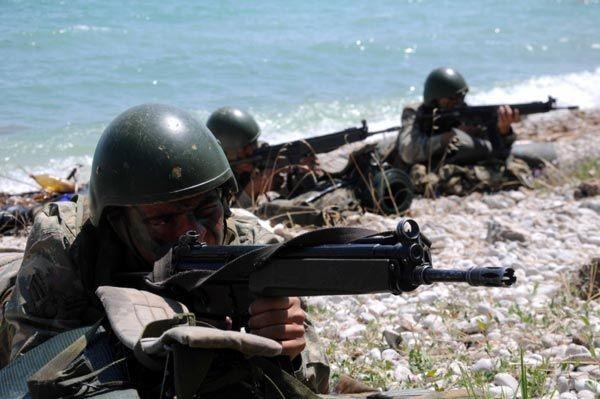 Türk Komandoları nefesleri kesti 12