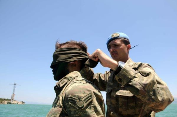 Türk Komandoları nefesleri kesti 16