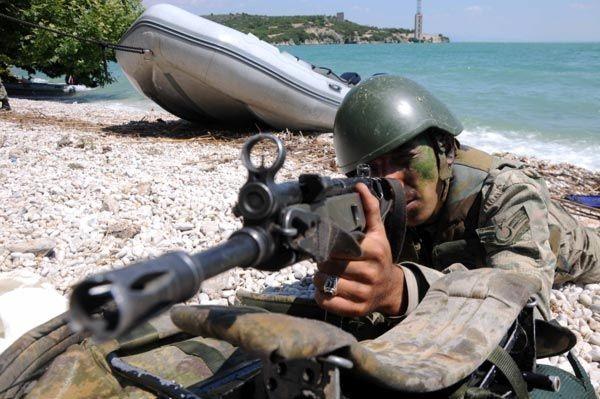 Türk Komandoları nefesleri kesti 3