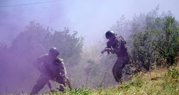 Türk Komandoları nefesleri kesti 6