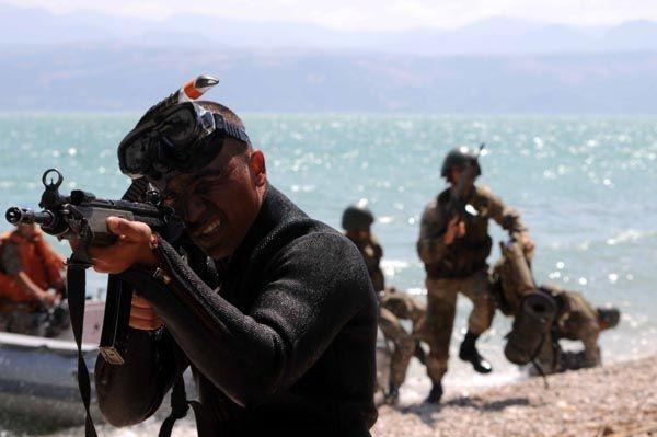 Türk Komandoları nefesleri kesti 9