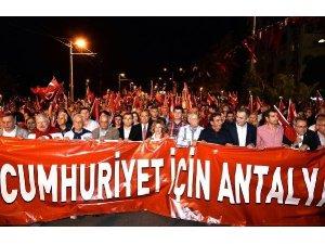 29 Ekim'de Antalya