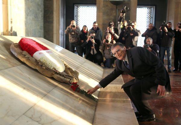 Ödülünü aldı, Anıtkabir'e koştu 12