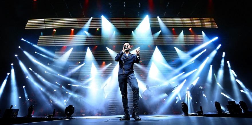 Tarkan'ın 2017 Konserlerinden Muhteşem Kareler 2
