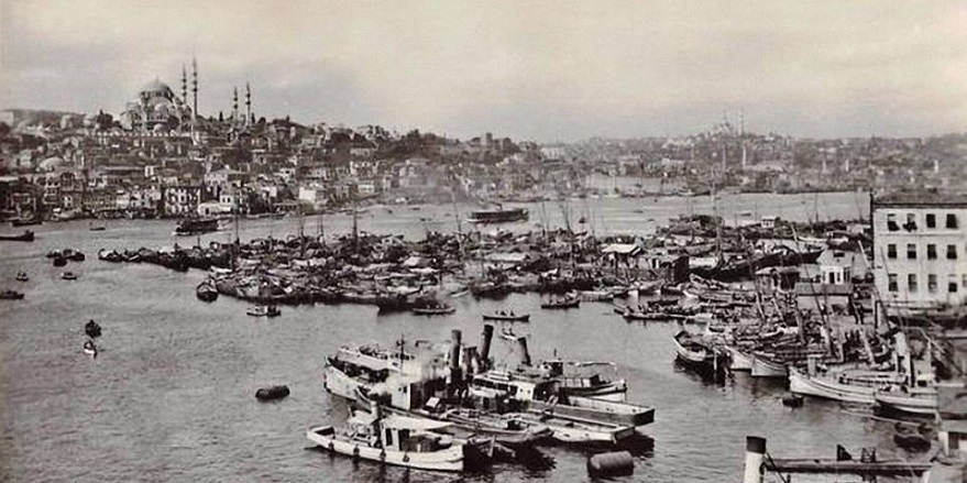 Eski İstanbul'dan muhteşem kareler 24