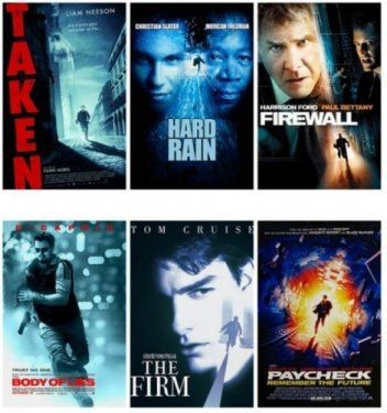 Hollywood'un klişeleşen afişleri 3