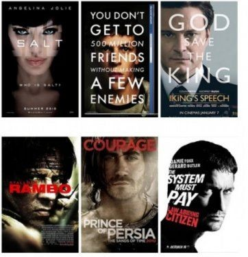 Hollywood'un klişeleşen afişleri 5