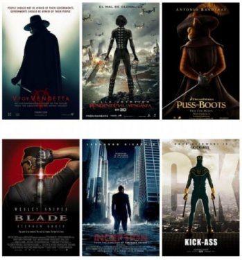 Hollywood'un klişeleşen afişleri 6