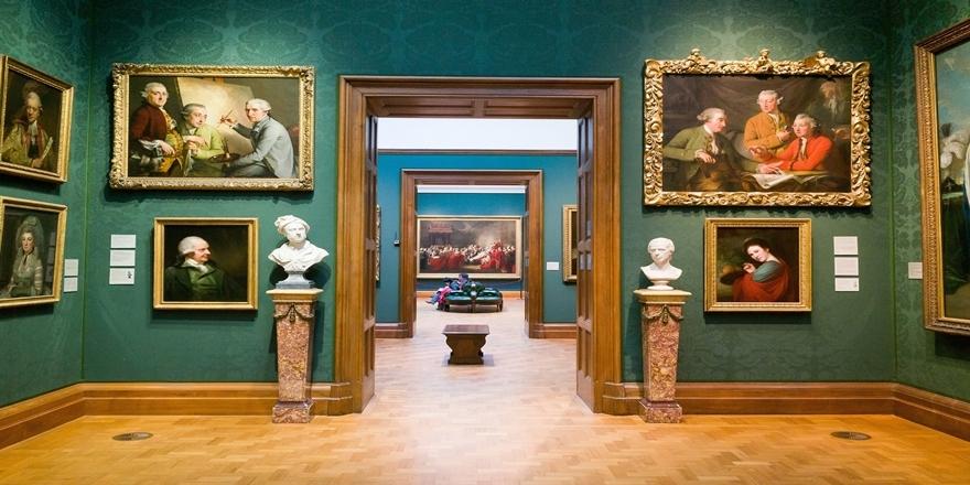 Dünyanın en çok ziyaret yapılan 10 müzesi 8