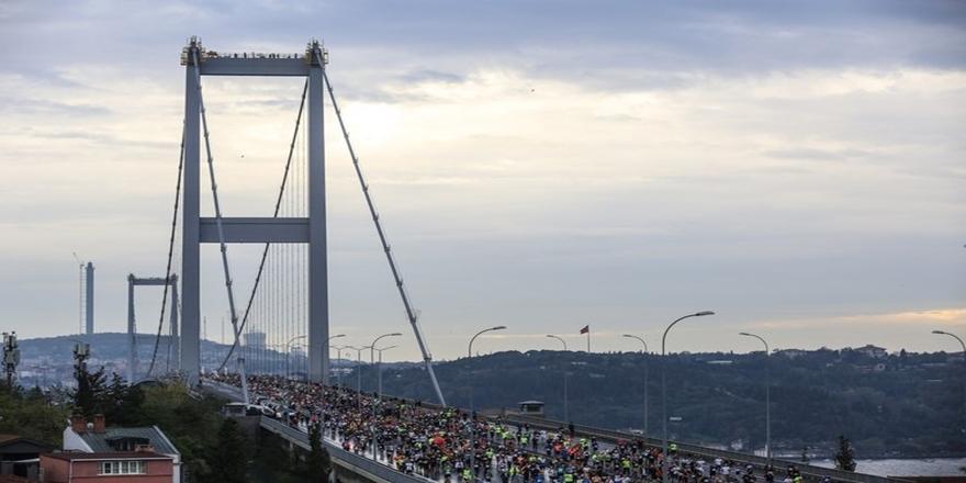 İstanbul'da dev maraton koşusu gerçekleşti 1