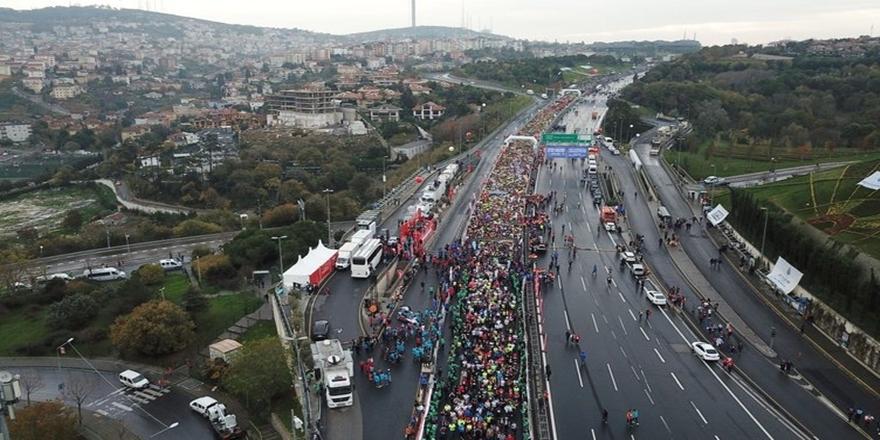 İstanbul'da dev maraton koşusu gerçekleşti 10