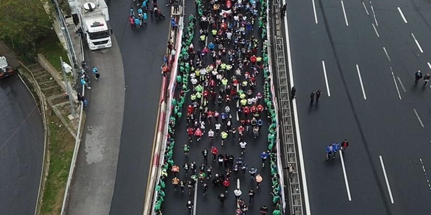 İstanbul'da dev maraton koşusu gerçekleşti 2