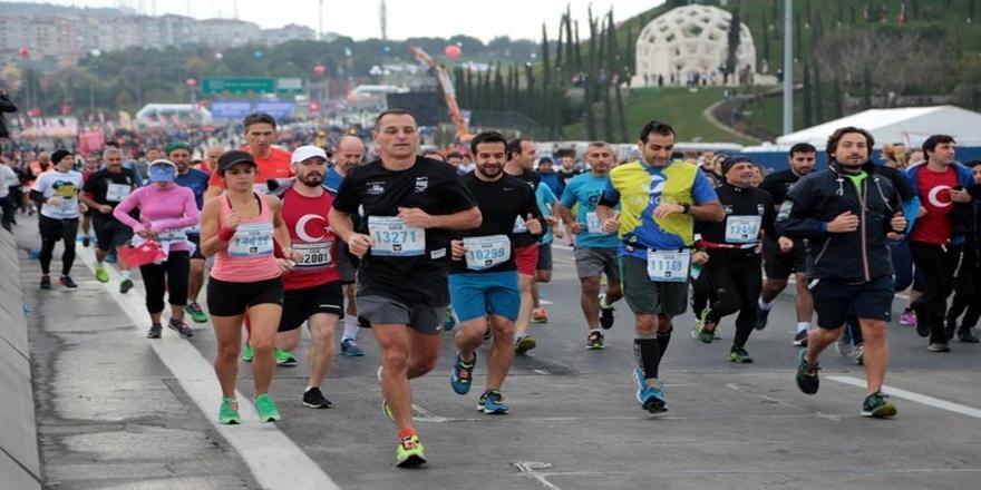 İstanbul'da dev maraton koşusu gerçekleşti 5