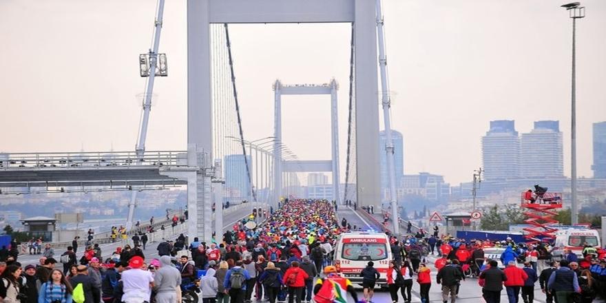 İstanbul'da dev maraton koşusu gerçekleşti 7