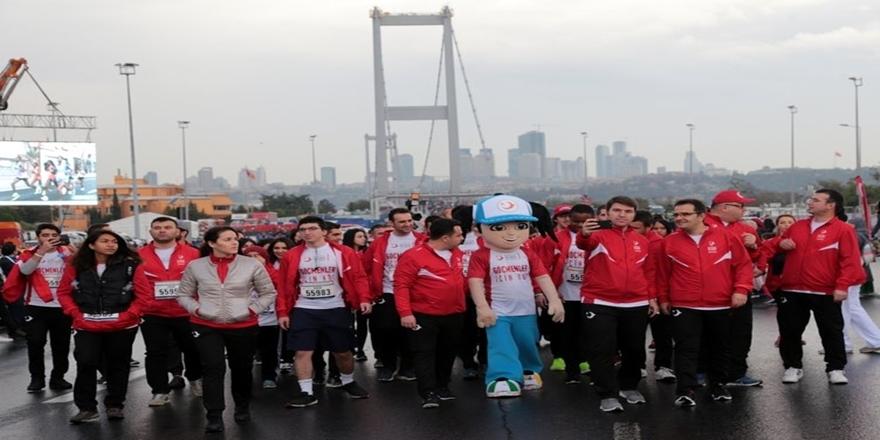 İstanbul'da dev maraton koşusu gerçekleşti 8