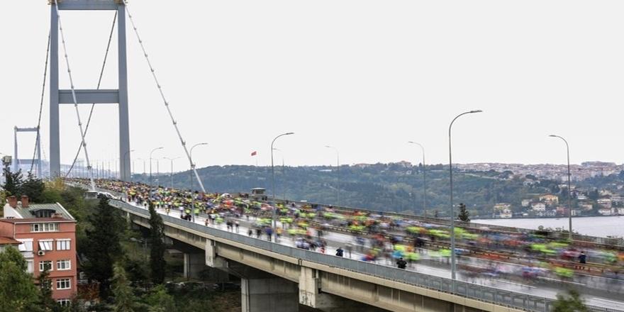İstanbul'da dev maraton koşusu gerçekleşti 9