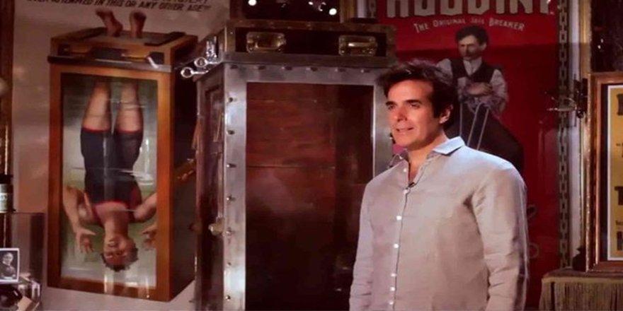 Ünlü sihirbaz David Copperfield sonunda büyük sırrını açıkladı