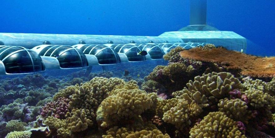 Dünyanın 10 fantastik su altı oteli 10
