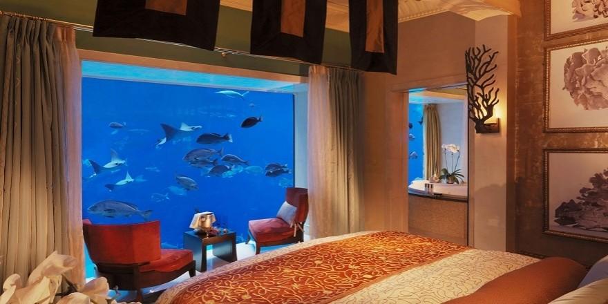 Dünyanın 10 fantastik su altı oteli