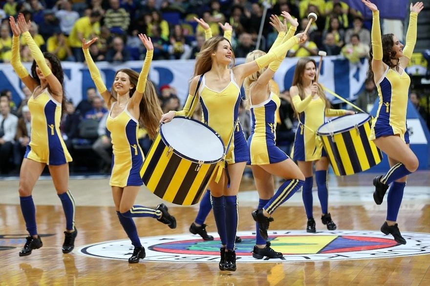 Fenerbahçe maçına damga vuran dans gösterisi 11