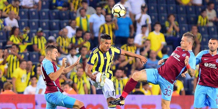 İşte Trabzonspor-Fenerbahçe maçının 11'leri