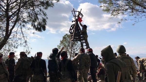 İşte kahraman Mehmetçiğin Afrin'deki özel görüntüleri 11
