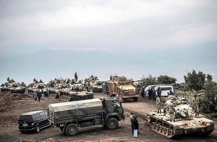 İşte kahraman Mehmetçiğin Afrin'deki özel görüntüleri 14