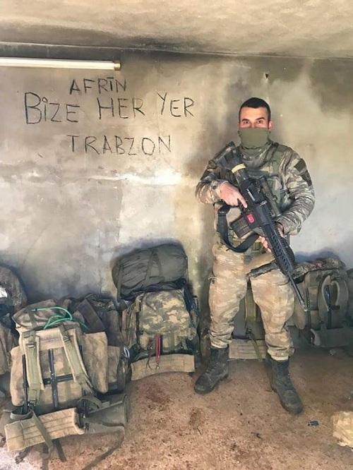 İşte kahraman Mehmetçiğin Afrin'deki özel görüntüleri 17