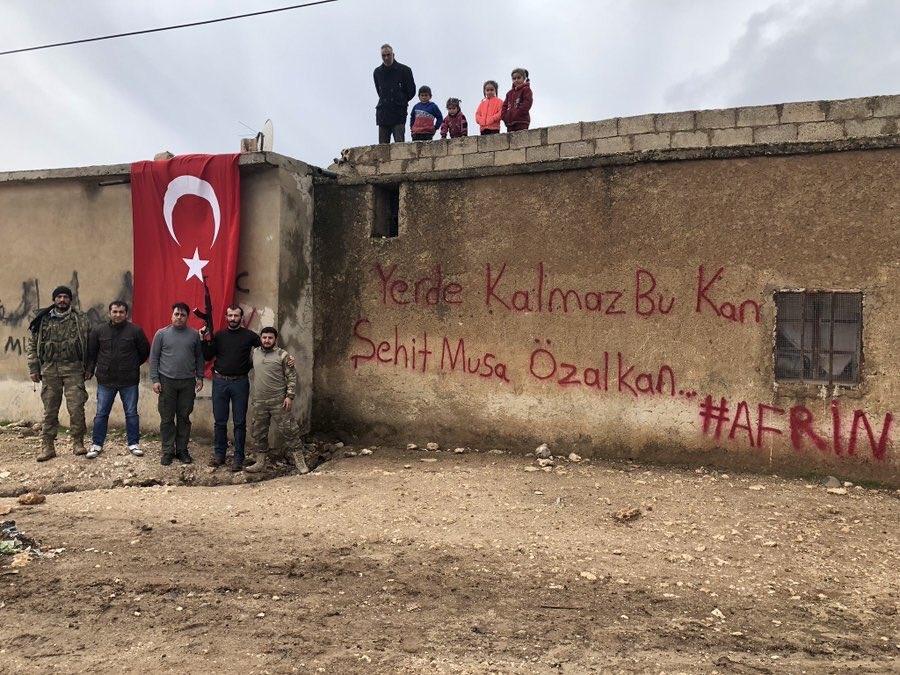İşte kahraman Mehmetçiğin Afrin'deki özel görüntüleri 24