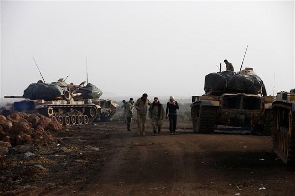 İşte kahraman Mehmetçiğin Afrin'deki özel görüntüleri 5
