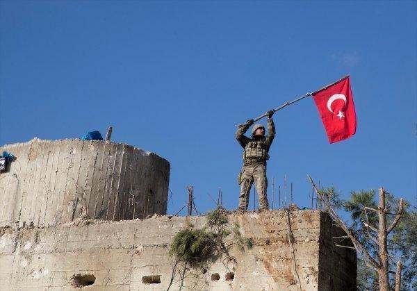 İşte kahraman Mehmetçiğin Afrin'deki özel görüntüleri 9