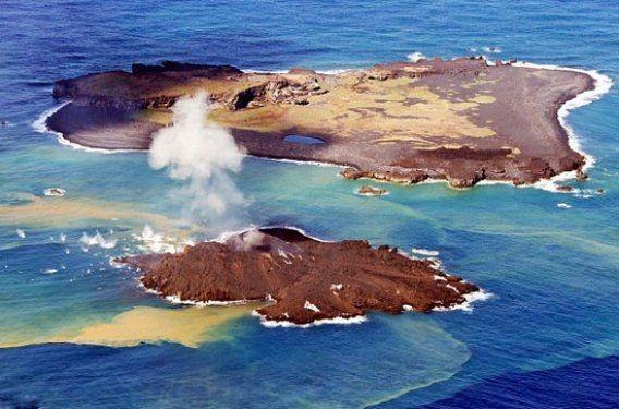 Volkanik ada dakikalar içinde yok oldu 1
