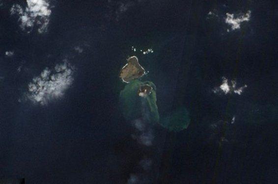 Volkanik ada dakikalar içinde yok oldu 2