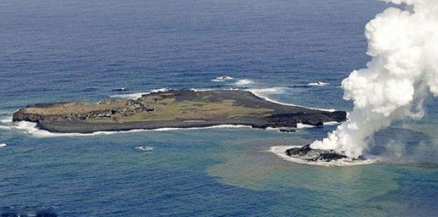 Volkanik ada dakikalar içinde yok oldu 3