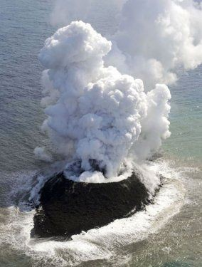 Volkanik ada dakikalar içinde yok oldu 4