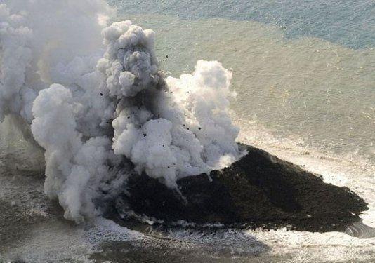 Volkanik ada dakikalar içinde yok oldu 6