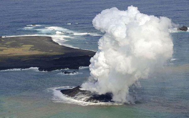 Volkanik ada dakikalar içinde yok oldu 7