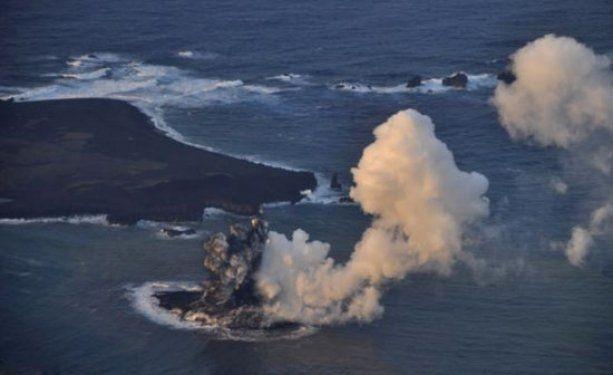 Volkanik ada dakikalar içinde yok oldu 8