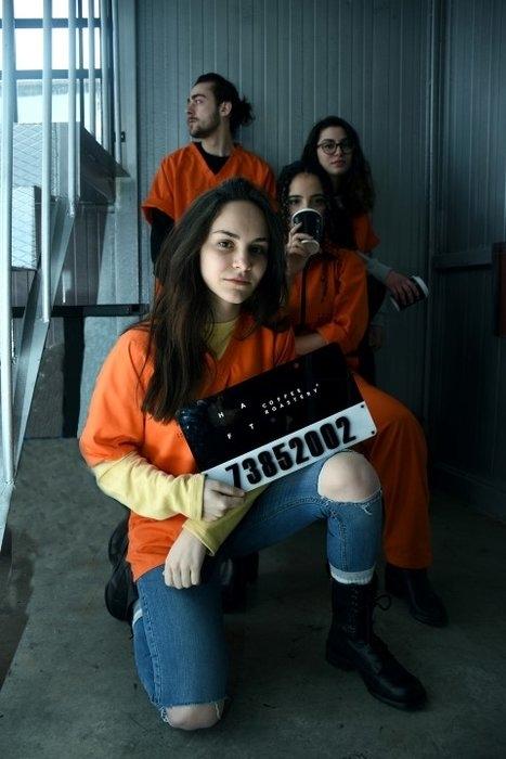 """Hapishane konseptli """"Kodes Cafe"""" açıldı 15"""
