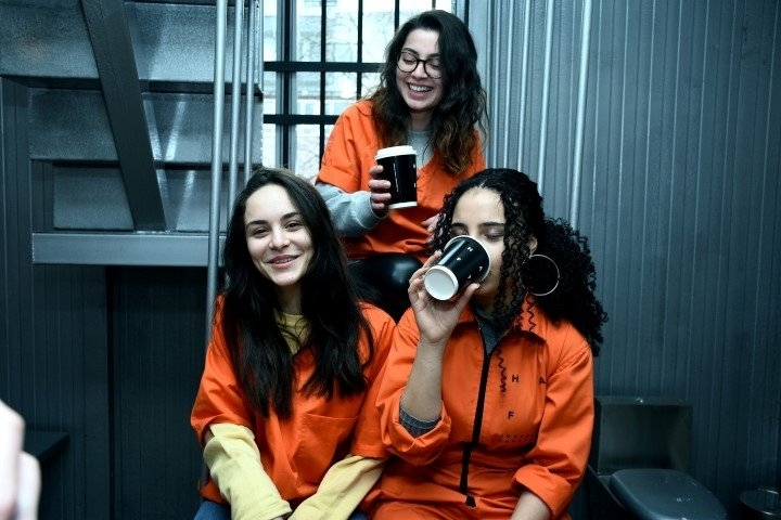"""Hapishane konseptli """"Kodes Cafe"""" açıldı 25"""