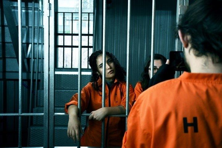 """Hapishane konseptli """"Kodes Cafe"""" açıldı 29"""